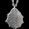 Elvish Leaf of Winter Necklace