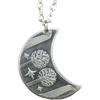 Rivendell Silver Moon Necklace