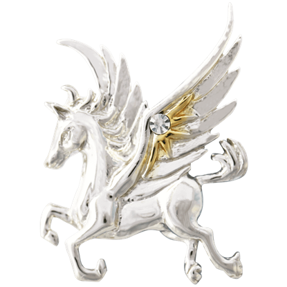 Pegasus of the Stars Necklace by Anne Stokes