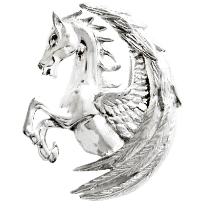 Pegasus Fortuna Necklace by Anne Stokes