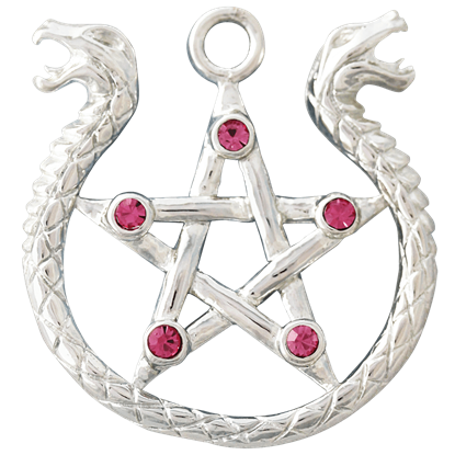 Amphisbaena Necklace by Anne Stokes