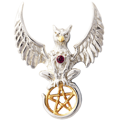 Griffin of Nemesis Necklace by Anne Stokes
