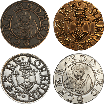 Winterfell 4 Coin Set