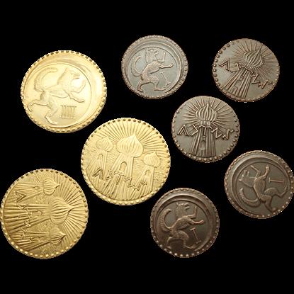 Conan Eight Piece Turanian Coin Set