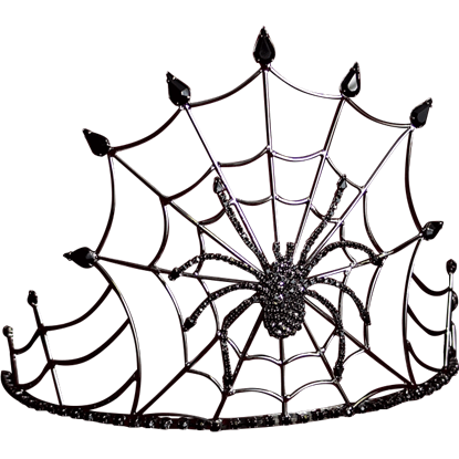 Gothic Queen Spider Crown