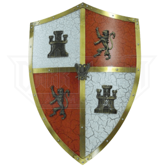Shield Of The Catholic King Aa855 From Leather Armor Leather