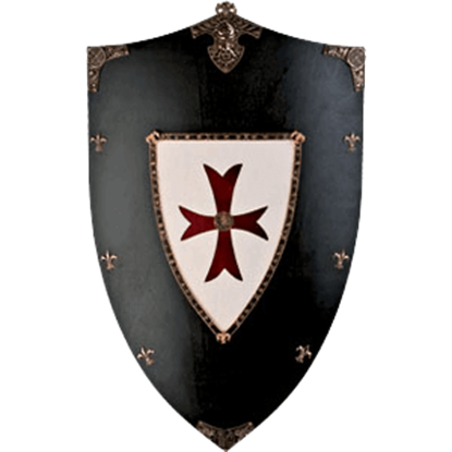 Crusaders Wooden Shield