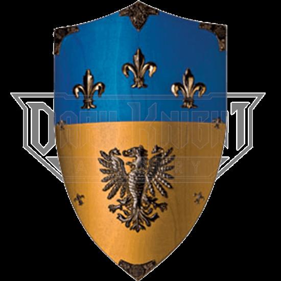 Charlemagne Wooden Shield