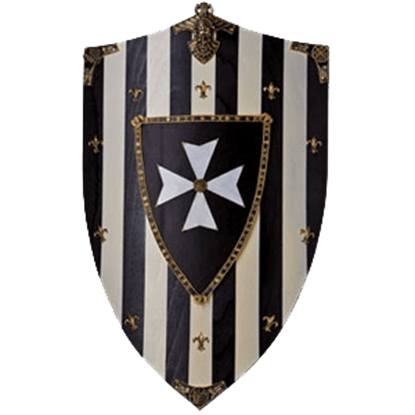 Hospitaliers Knights Wooden Shield