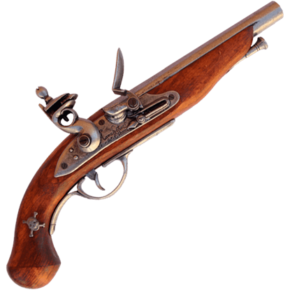 Grey Pirate Flintlock Pistol