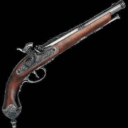 1825 Italian Percussion Pistol Pewter
