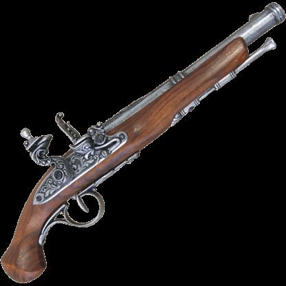 18th Century Flintlock Pistol Grey