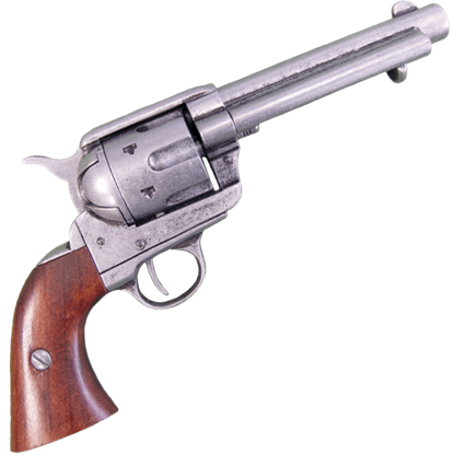 Pewter 45 Caliber Revolver USA, 1873