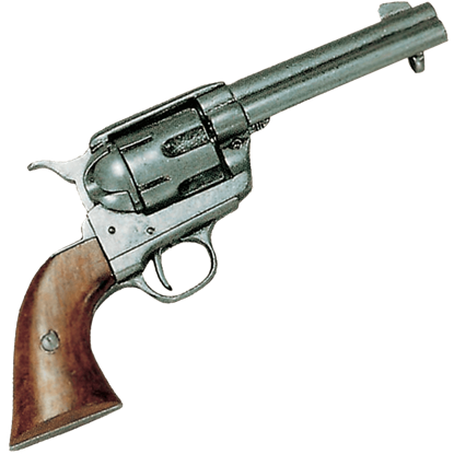 Colt .45 Army Revolver Pewter