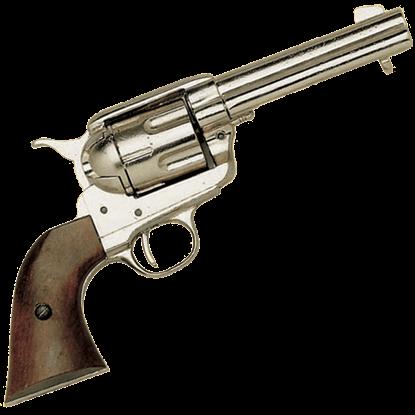 Colt .45 Army Revolver Nickel