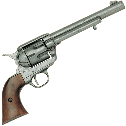 1873 Cavalry Model Revolver Pewter