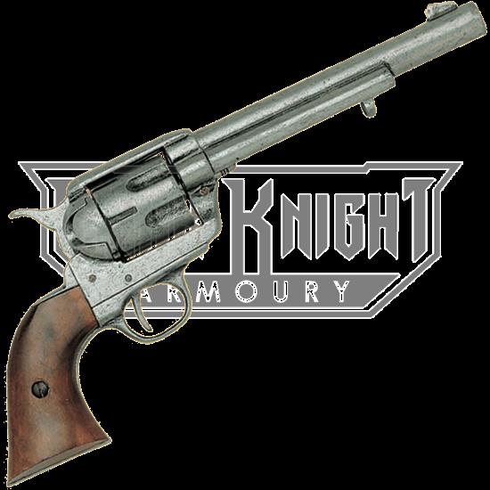 1873 Cavalry Model Revolver Pewter