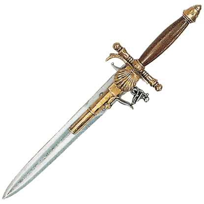 18th Century French Knife Pistol