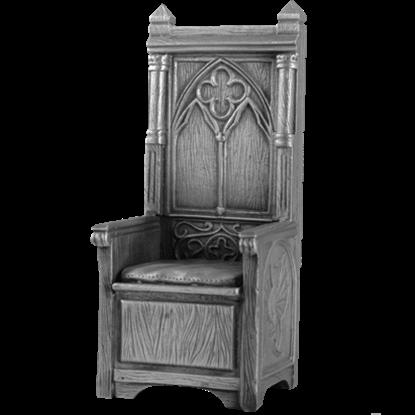 Pewter King Arthur Throne