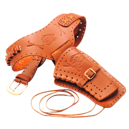 Large Right Hand Draw Frontier Revolver Holster
