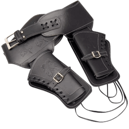 Black Double Holster - Large