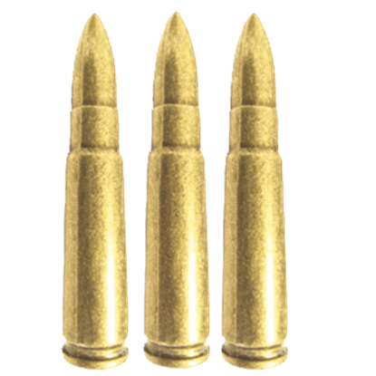 Replica AK-47 Bullets - Package of 6