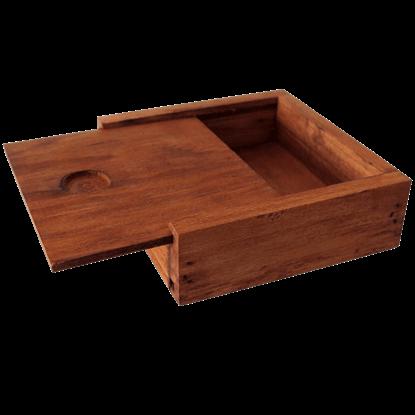 Wooden Badge Box