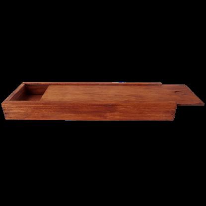 Wooden Letter Opener Box