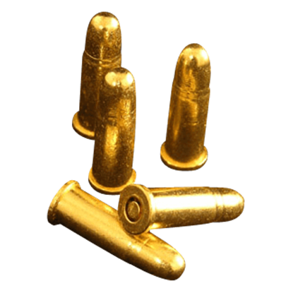 Brass Replica Bullets - Package of 6