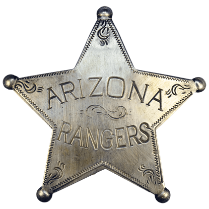 Arizona Ranger Badge