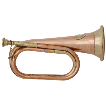 Two Tone USA Bugle