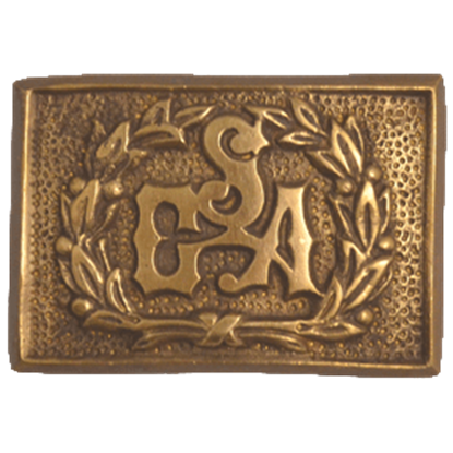 Confederate Officers Belt Buckle