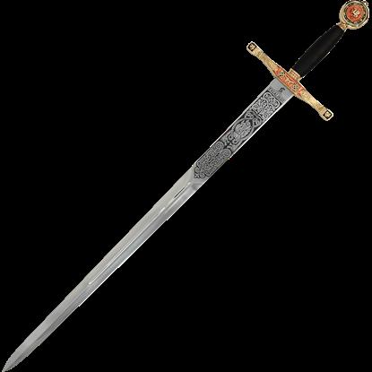 Gold Excalibur Sword