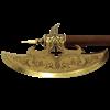 16th Century German Brass Battle Axe