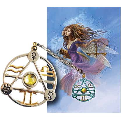 Air Element Talisman and Card Set