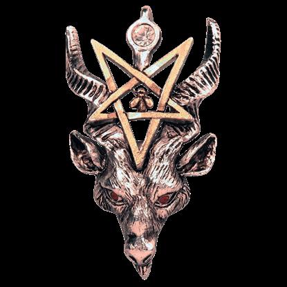 Gothic Baphomet Necklace