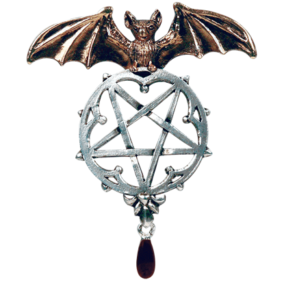 Lamia Reverse Pentacle Necklace