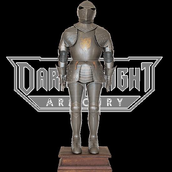 16th Century Aged Finish Full Suit of Armor