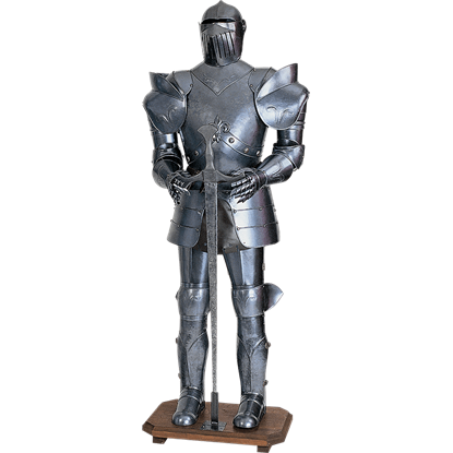 Decorative Fleur de Lis Full Suit of Armor
