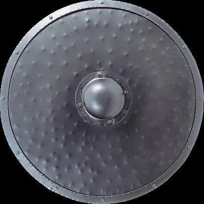 Hammered Round Shield