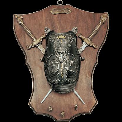 Mini Medieval Armoury Key Hanger