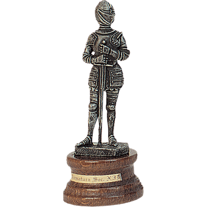 Mini Pewter Knight with Sword