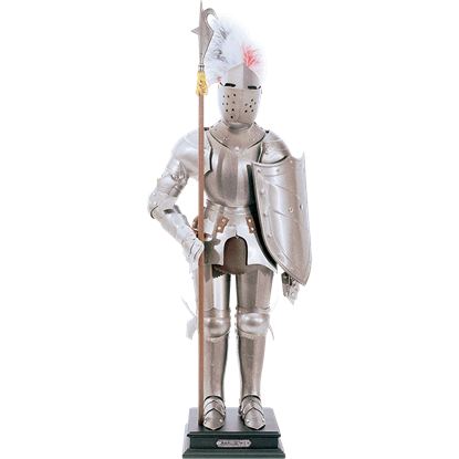 Shiny Steel Miniature Suit of Armour