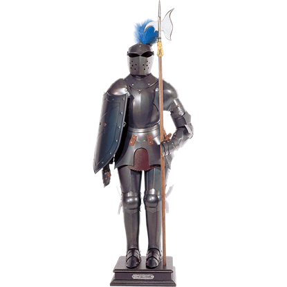 Dark Steel Miniature Suit of Armour