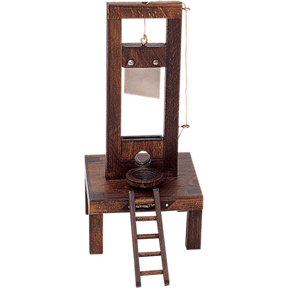 Miniature Guillotine