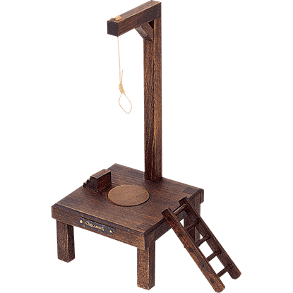 Miniature Gallows