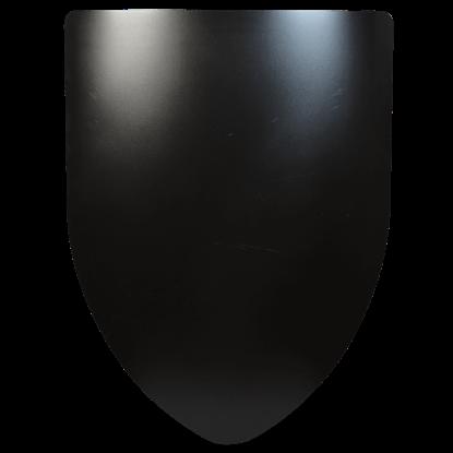 Plain Steel Battle Shield