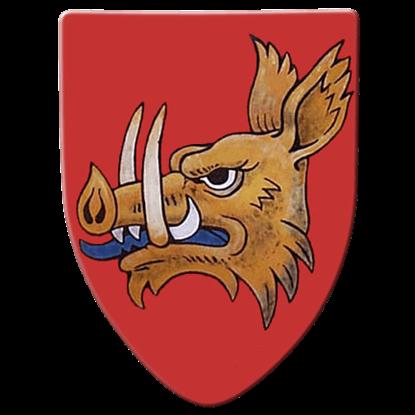 Boar Steel Battle Shield