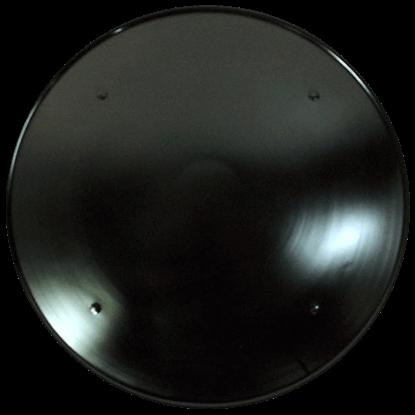 Plain Round Steel Battle Shield