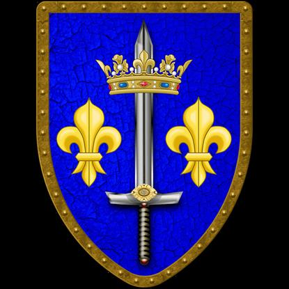 Joan of Arc Steel Battle Shield